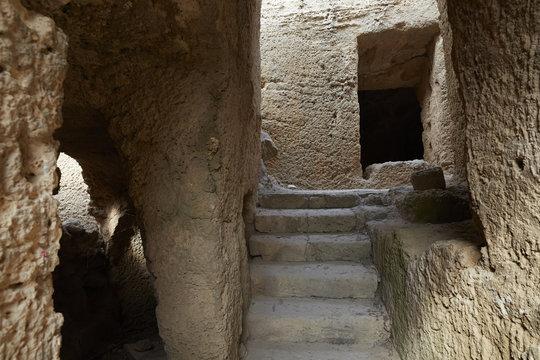 Tombs of the Kings, Paphos, Cyprus.
