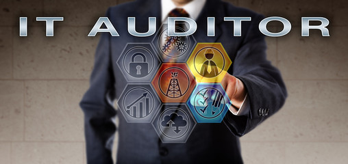 Male Recruitment Agent Activating IT AUDITOR