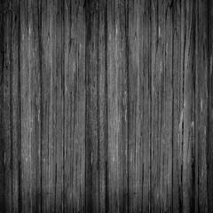 Old Wood wall plank black texture background