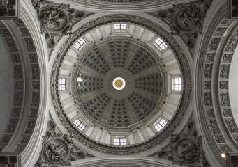 Church dome ceiling