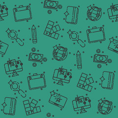 Design icons pattern