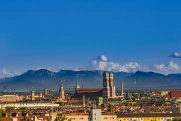 Münchner Alpen Panorma