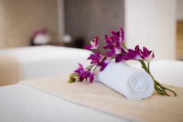 Beautiful massage center in resort