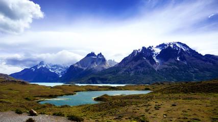 "Cordillera Paine in ""Torres del Paine"" National Park, Patagonia, Chile"