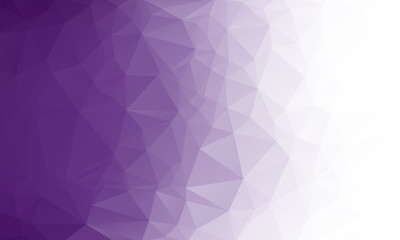 Polygon purple gradient background