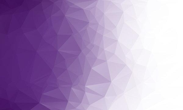 Polygon purple gradient background