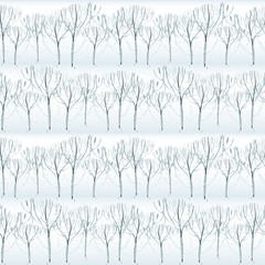 Watercolor frost pattern