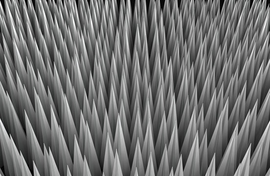 Metal Spikes Background