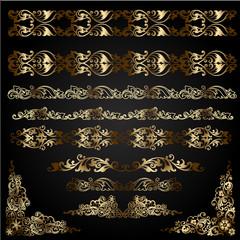 decorative elements for design.