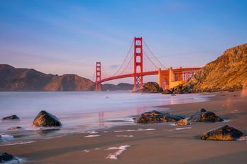 Wall Mural - Golden Gate Bridge in San Francisco, California