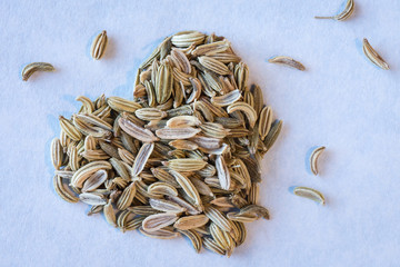 Heart healthy fennel seeds