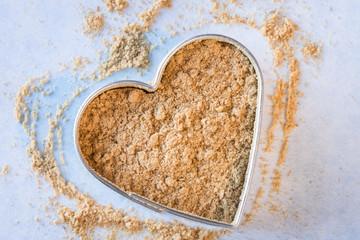 Heart healthy ground ginger