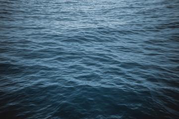 Blue sea. Texture sea. Calm Sea waves