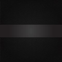 Dark gray banner on circle mesh design luxury modern vector illustration.