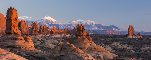 Red Rocks and Purple Mountains