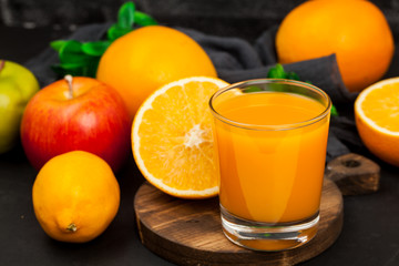 Orange. Citrus fruit. Juice. A useful drink.