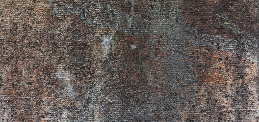 Brown and grey background with concrete texture horizontal top view isolated, vintage dark wood backdrop, old rustic stone board, space blank back on the table, mockup brick nuture wall