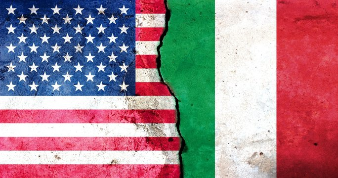 A crack in the monolith. Italy-United States relations