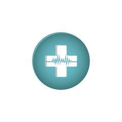 Medical care symbol icon vector illustration graphic design