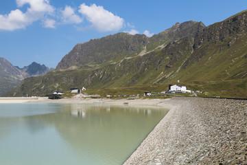 Papiers peints Barrage Silvretta Reservoir Lake in Summer, Austria