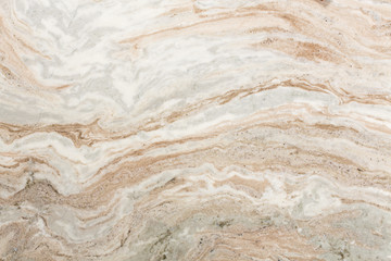 Poster Marble Light brown quartzite stone surface.