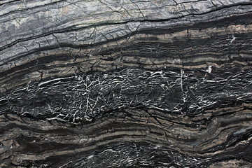 Canvas Prints Black marble stone, abstract background.