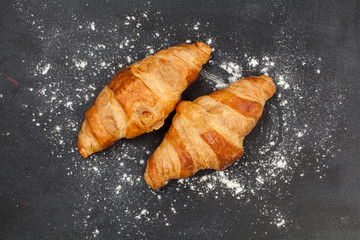 Croissant. Tasty sweet pastries. For tea. For your design.