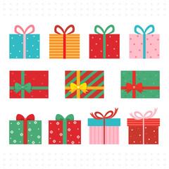 Present gift box.