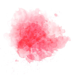 Beautiful splash of watercolor vector