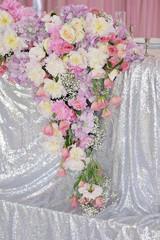 Art decor wedding table