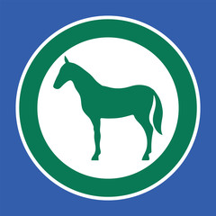 Place Horse sign.