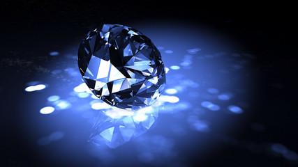 Classic diamond 3D render