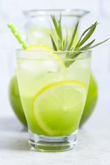 Homemade Estragon Lemonade