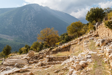 Ruins of the ancient Lycian city Arycanda, Turkey