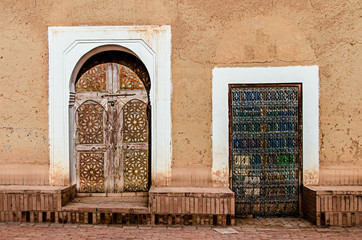 Berber Doors of Ouarzazate