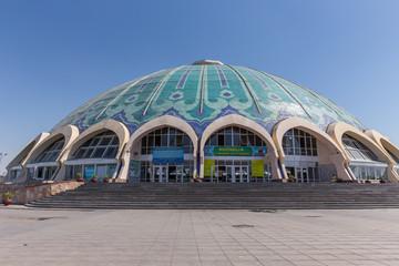 Chorsu Bazaar in Tashkent, Uzbekistan