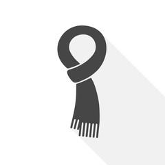 Scarf vector icon - Illustration