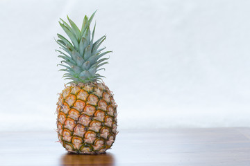 pineapple with copy space