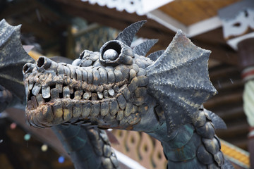 Iron Dragon head