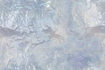 Wide continuous   ice pattern