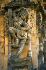 Apsara, dancing girl, sculpture