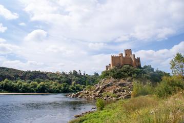 Almourol Castle, Santarém, Portugal