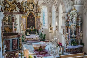 Church of Saint Margaret in Oberperfuss, Austria.