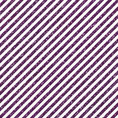 Purple Glitter Stripes