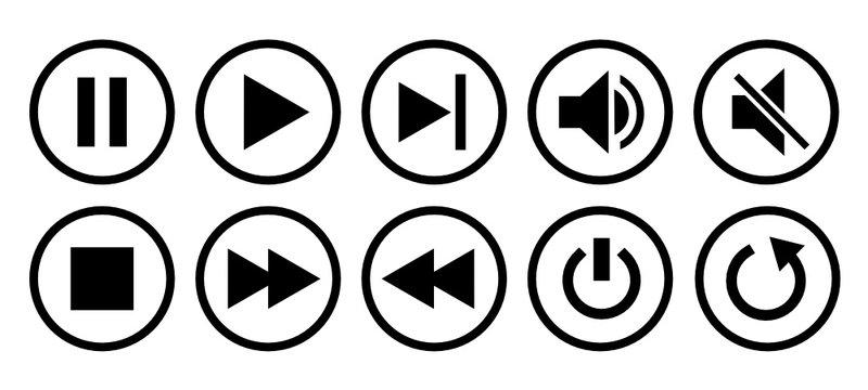 przyciski nawigacji multimedialnej