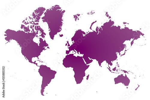 世界地図 ヨーロッパ