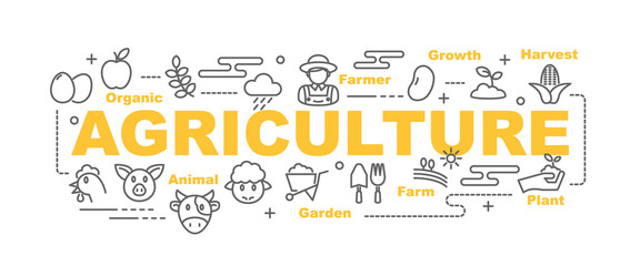 agriculture vector banner