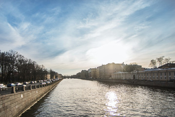 Canals and rivers of St. Petersburg