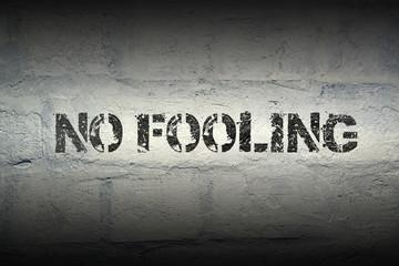 no fooling gr
