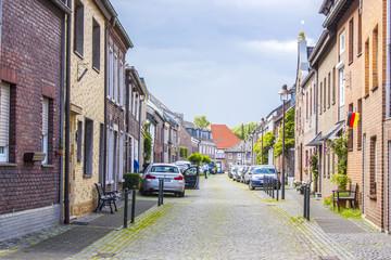 Street in Wachtendonk, Germany